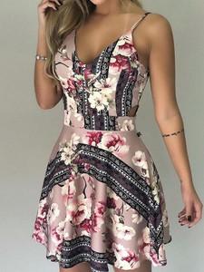 Sukienka Elegrina rozkloszowana mini