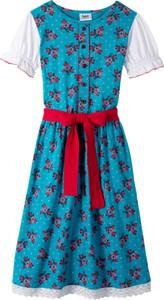 Sukienka dziewczęca bonprix bpc bonprix collection