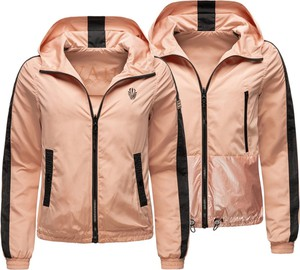 Różowa kurtka Navahoo krótka w stylu casual