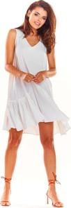 Sukienka Awama w stylu boho oversize mini