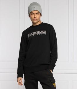 Czarna bluza Napapijri w sportowym stylu