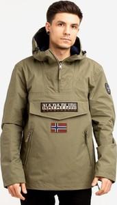 Zielona kurtka Napapijri w sportowym stylu