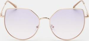 Fioletowe okulary damskie Sinsay