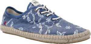 Buty letnie męskie Pepe Jeans sznurowane z tkaniny