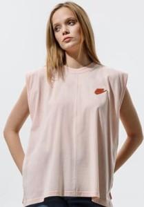 Bluzka Nike z krótkim rękawem z okrągłym dekoltem