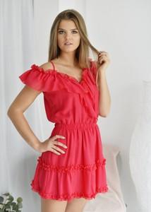Sukienka Fason mini rozkloszowana w stylu casual