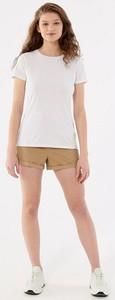 Bluzka Outhorn z krótkim rękawem z okrągłym dekoltem w sportowym stylu