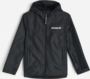 Czarna kurtka dziecięca Reserved dla chłopców