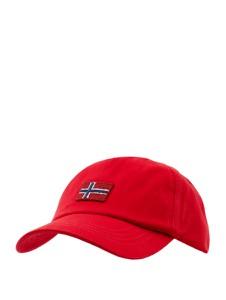 Czerwona czapka Napapijri