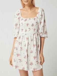 Sukienka Review z bawełny mini z dekoltem w kształcie litery v