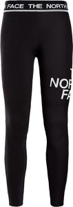 Czarne legginsy The North Face w sportowym stylu