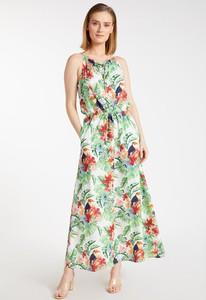 Zielona sukienka Monnari maxi