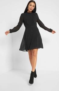Sukienka ORSAY mini z tkaniny z długim rękawem