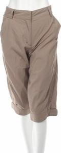 Brązowe spodnie sportowe Adidas w stylu retro