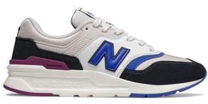 Buty sportowe New Balance sznurowane z zamszu