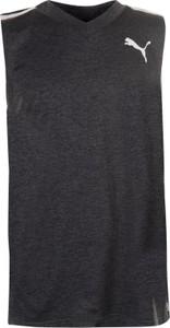 Czarny t-shirt Puma