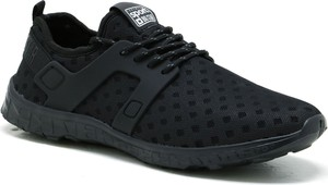 Czarne buty sportowe Big Star sznurowane