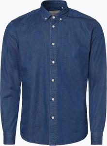 Niebieska koszula Minimum z jeansu w street stylu