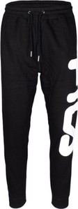 Czarny dres Fila w sportowym stylu