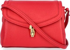 Czerwona torebka VITTORIA GOTTI średnia na ramię