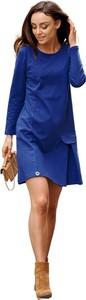 Niebieska sukienka Lemoniade z bawełny