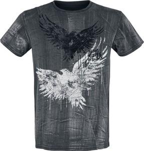 T-shirt Emp z bawełny w młodzieżowym stylu z nadrukiem