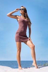 Sukienka MERRIBEL z bawełny