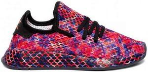 Buty sportowe Adidas Originals z płaską podeszwą deerupt sznurowane