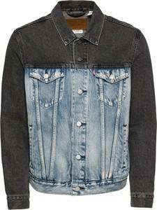 Niebieska kurtka Levis w młodzieżowym stylu z jeansu