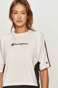T-shirt Champion z okrągłym dekoltem z bawełny w sportowym stylu