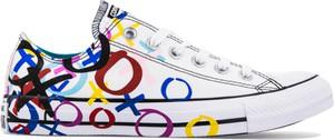 Trampki Converse w stylu casual z płaską podeszwą
