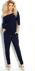 Niebieski kombinezon NUMOCO z długimi nogawkami