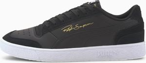 Buty sportowe Puma ze skóry sznurowane