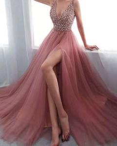 Różowa sukienka Kendallme bez rękawów