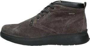 Brązowe buty zimowe Igi & Co w stylu casual