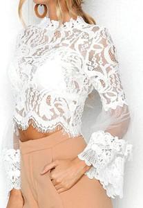 Bluzka Arilook z okrągłym dekoltem