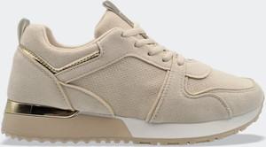 Buty sportowe Labuty sznurowane z płaską podeszwą z zamszu