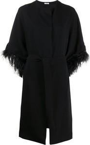 Czarny płaszcz P.A.R.O.S.H.