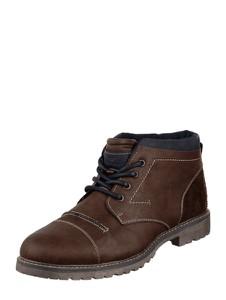 Buty zimowe Tom Tailor sznurowane w stylu casual
