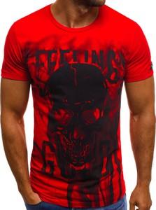 T-shirt producent niezdefiniowany z bawełny z nadrukiem