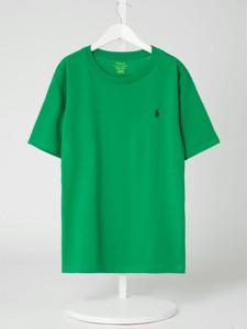 Zielona bluzka dziecięca POLO RALPH LAUREN