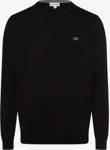 Sweter Lacoste z okrągłym dekoltem