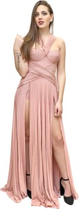 Różowa sukienka Elisabetta Franchi