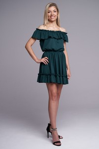 Sukienka Ella Boutique z krótkim rękawem