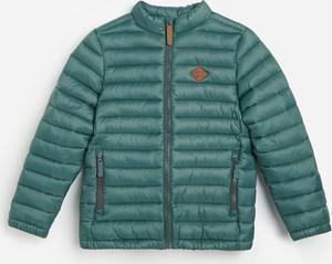 Turkusowa kurtka dziecięca Reserved dla chłopców
