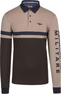T-shirt Aeronautica Militare z długim rękawem