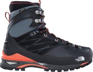 Buty trekkingowe The North Face sznurowane z płaską podeszwą
