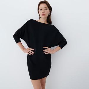 Sukienka Mohito mini z długim rękawem w stylu casual