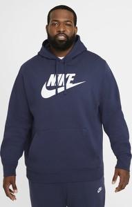 Niebieska bluza Nike w sportowym stylu z polaru