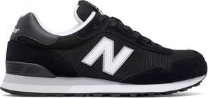Czarne buty sportowe New Balance z zamszu